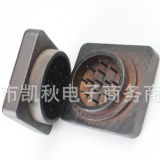 Amoladora de madera cuadrada del humo de la hierba de la alta calidad