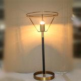 Lámpara de vector de cobre amarillo de la nueva antigüedad del diseño