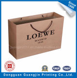 High Quality Famous Brand Kraft Paper Shopping Bag