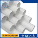 Пластичная поли труба план-графика 80 пробки PVC