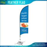 Im Freien kundenspezifischer Firmenzeichen-Feder-Markierungsfahnen-Gebrauch-verschiedene Unterseiten (J-NF04F06005)