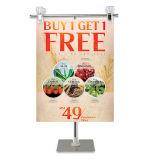 De Tribune van het Teken van de vertoning voor Supermarkt