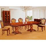 Tabella pranzante di legno con 6 parti che pranzano presidenza (H858)