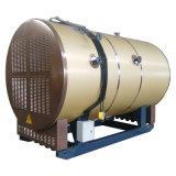 Caldeira de vapor de condensação horizontal do rolamento do petróleo da indústria (gás)