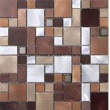 2016年に300*300mm Square Aluminum及びSteel Glass Mosaic Tiles