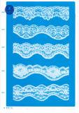 Merletto del tricot per vestiti/indumento/pattini/sacchetto/caso 3192 (larghezza: 7cm)