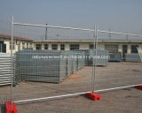 Heißes Dipped Galvanized oder Electric Galvanized Temporary Fence
