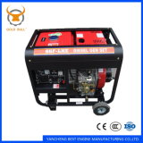 Générateur diesel de pouvoir refroidi à l'air de GB6500dg pour l'usage industriel