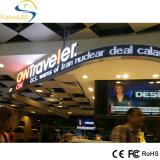 記憶装置の広告のために屋内フルカラーP7.62適用範囲が広いLED表示