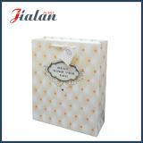 3D «наилучшие пожелания для вас» сумки бумаги подарка бумаги цвета слоновой кости