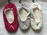 3つのカラー女性の蝶結び目の屋内靴