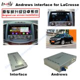 (13-16) Interfaz video de HD GPS de la mejora de los multimedia androides autos del tacto para el lacrosse de Buick, WiFi/Mirrorlink/Bt