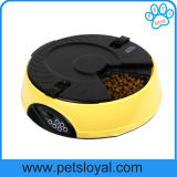 Alimentatore automatico dell'animale domestico della ciotola dell'animale domestico dei pasti del commercio all'ingrosso 6 dell'OEM della fabbrica