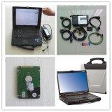 MB de Ster C5 BR verbindt aan Ruwe CF52 4GB Tablet met Meertalige Software