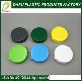 Runde Form-kosmetische verpackenkippen- Haube-Plastikschutzkappe