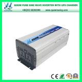 Inversor puro auto de la potencia de onda de seno de la UPS de DC12/24V 6000W con el cargador (QW-P6000UPS)