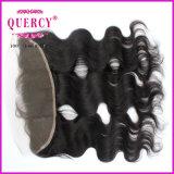 Волосы быстрого шнурка волосяного покрова закрытия шнурка поставки полного прифронтового прифронтовые соединяют Frontals шнурка с волосами младенца