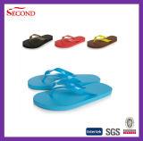 Sandalia de la playa de la PU de cuatro colores