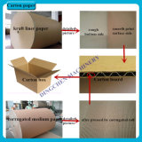 papier de 1575mm emballage faisant machine le coton égrapper comme matériau
