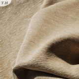 2016年のポリエステル薄茶のシュニールデザインソファーファブリック(FTH31002B)