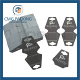 Weiße Karten-Ohrring-Bildschirmanzeige-Luxuxkarte mit schwarzem Vorstand (CMG-094)