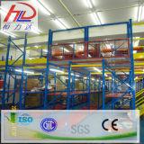 Estante de niveles múltiples del entresuelo del almacén de la carga pesada