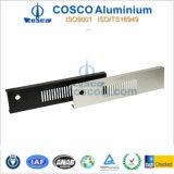 Profil d'aluminium/en aluminium de première qualité pour l'acoustique avec le finissage et l'usinage