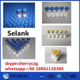 Анаболитный культуризм Selank полипептида для роста мышцы