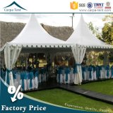 Wedding Partyのための5X5m Waterproof PVC庭Gazebo Canopy Tent