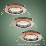 plafond enfoncé par inclinaison en aluminium Downlight de projecteur de 3W GU10 LED
