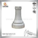 La cubierta ligera ligera de la base LED del anodizado en negro de aluminio a presión proceso de la fundición