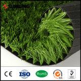 Gras van het Gras van het Gebied van het voetbal het Natuurlijke Kunstmatige