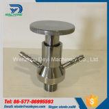 Válvula dobro manual da amostra Ss304 para a aplicação de Pharm