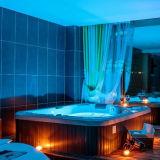 Hete Vlek 5 Personen 2 de Hot Tub Exterior SPA Jacuzzi van Zitkamers