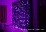 Luz líquida do diodo emissor de luz da cachoeira interna do Natal