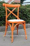 Алюминиевый стул трактира задней части креста мебели