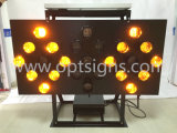 Freccia solare del montaggio LED del segnale stradale della scheda del segno di sicurezza stradale