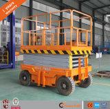 Table élévatrice mobile hydraulique de ciseaux de vente directe d'usine avec du ce