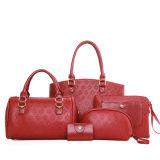 In reliëf gemaakte Manier 5 de Vastgestelde Vrouw van de Zak van PCs Dame Designer Handbag