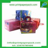Золотистая самомоднейшая коробка торта бумажных коробок годовщины венчания коробок упаковки конфеты партии случая