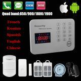 Chaud ! ! Système d'alarme à la maison de GM/M avec l'exécution d'androïde et d'IOS $$etAPP (clavier numérique de contact)