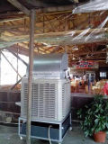 산업 공기 냉각 장치 물 공기 냉각기