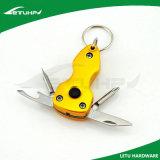 Faltendes multi Keychain mit Messer