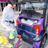 Chinesen stellen das 2 Tür-elektrische intelligente Auto her