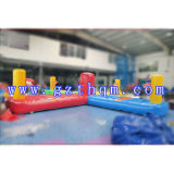 Jouet gonflable / Interactive Inflatable Shoot Arena Sports Game
