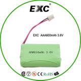 Nachladbare Batterie-Satz AA-2000mAh 3.6V Ni-MH anpassen