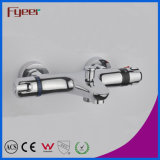 Diverter를 가진 Bath Shower Thermostatic Faucet에서 Wall Fyeer High Quality