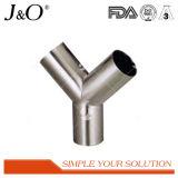 Garnitures de pipe soudées par coude sanitaire de tube de l'acier inoxydable Y