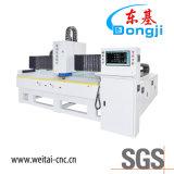 유리제 훈장을%s 수평한 3 측 CNC 유리제 테두리 기계