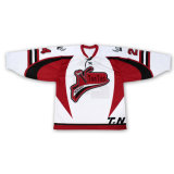 Unbelegte umschaltbare Großhandelssublimation-preiswertes kundenspezifisches Eis-Onlinehockey Jersey